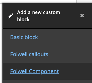 add a new custom block example