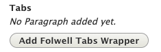 add folwell tabs wrapper example